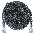 "3/8"" - Grade 80 Binder Chain - Grab Hooks - 10' Length"