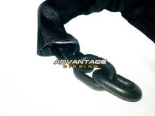 """Lock Chain 4' Length - 1/2"""" Chain sleeve detail"""