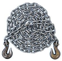 "3/8"" - Grade 100 Binder Chain - Grab Hooks - 24' Length"