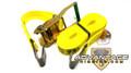 """Transport Durabilt Ratchet Strap - Flat J Hook - 27' Foot Length 2"""" Width"""