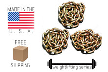 Weight Lifting Chain - 71.76 lbs Made in the USA