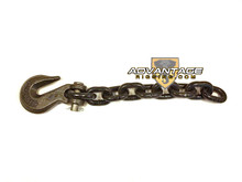 "1/2"" Tail Chain and hook - 5 Foot Length - Grade 80"