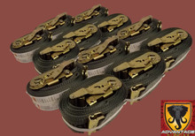 12 Pack - E-Track Ratchet Tie Down Strap