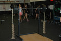 Image of weight bar with Weight Lifting Chains in Gym