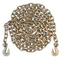 "5/16"" - Grade 70 Binder Chain - Grab Hooks - 10' Length"