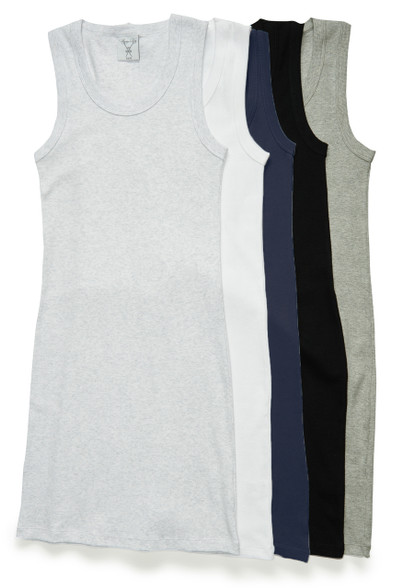 The Take Along Tank is available in five colors. From left: gray matter, white primer, dark blue, pitch-black and sterling gray.