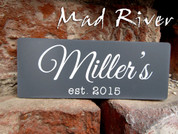 "Outdoor UV Stable laser engraved signage {3"" x 5""}"