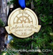Embark Ornament