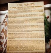 Family Proclimation