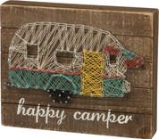 String Art - Happy Camper
