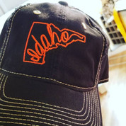 Distressed Sideways Idaho Cap