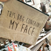 Makeup Travel Bag - FACE
