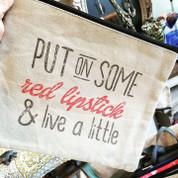 Travel Bag - LIVE A LITTLE