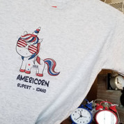 Youth Americorn Glitter Tee