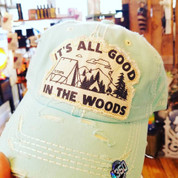 It's all good in the Woods Cap - Teal (mint)