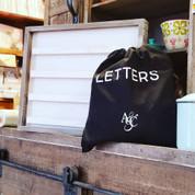 LETTERS - Letterboard letters (black)