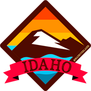 Idaho Retro Decal