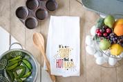 Hot Flash Flour Sack Dish Towel