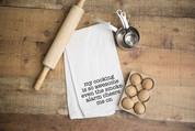 Smoke Alarm Flour Sack Dish Towel