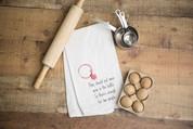 Wine Bottle Flour Sack Dish Towel