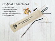 The Original Eco Straw Kit