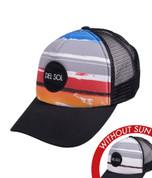 Del Sol Sunny Rays Trucker Hat