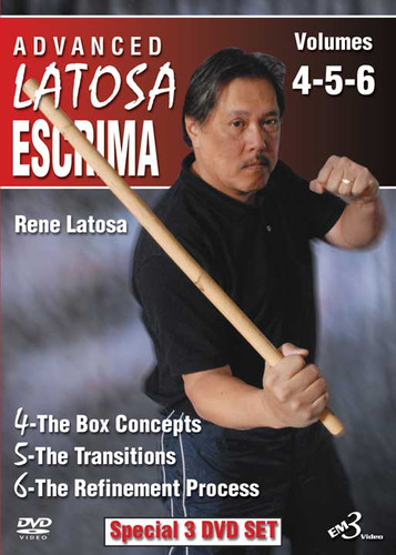 ADVANCED LATOSA ESCRIMA SET Vols. 4–5–6