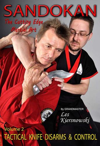 SANDOKAN (Vol-2) The Cutting Edge Martial Art TACTICAL KNIFE DISARMS & CONTROL