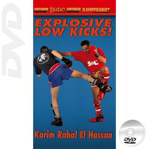 Kick Boxing  Explosive Low Kicks
