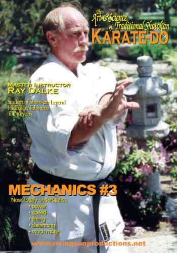 Art and Science of Shotokan Karate Mechanics 3( DVD download)