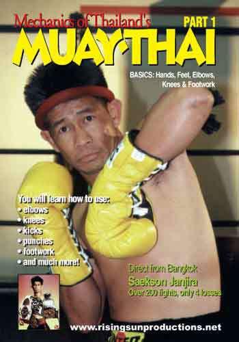 Muay Thai Mechanics of basics, hands, shifting and elbows PT 1(DVD download)