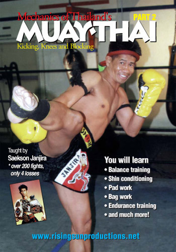 Muay Thai Mechanics of Kicking knees and blocking(DVD download)