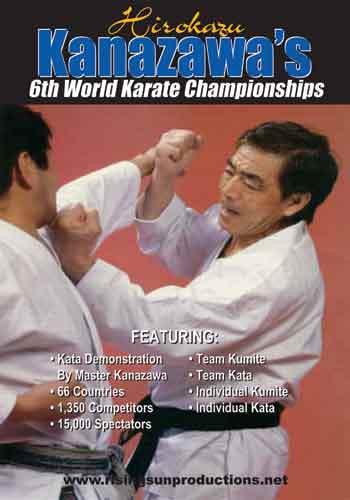 Kanazawa's 6th World Karate Championships