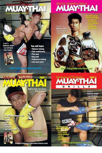 Muay Thai Master Janjira (4 DVD Set)