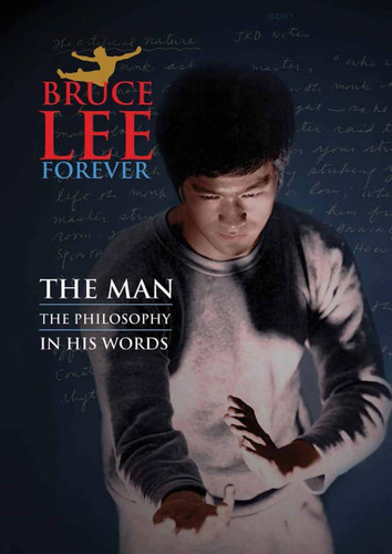 Bruce Lee Poster Magazine The Man The Philosophy in his own words.