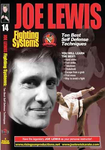 Joe Lewis - The Ten Best Self Defense Techniques(video download)