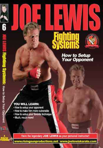 Joe Lewis - How To Setup Your Opponent(Video Download)