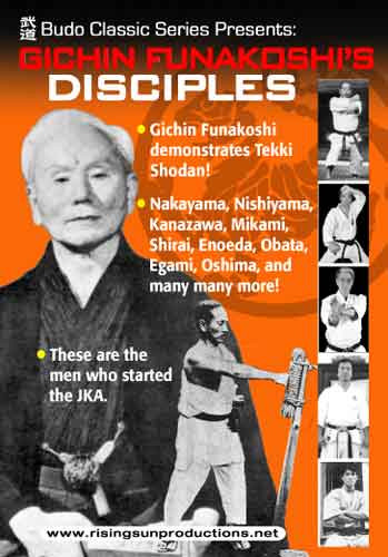 Gichin Funakoshi Disciples (Video Download)