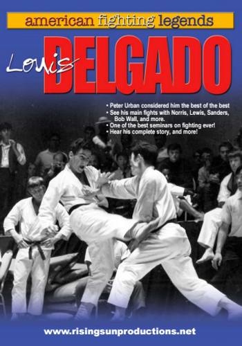Louis Delgado Karate Legend dl M-0099