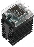 SSR-4825  25Amp solid state relay mounted to heat sink