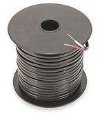 Type J 24 gauge thermocouple wire.  100' spool, ptfe insulation