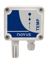NOVUS TEMP-WM wall mount temperature transmitter 4-20 ma