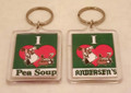 I love Pea Soup Keychain