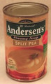"Can of Andersen's ""Original"" Creamy  Split Pea Soup"