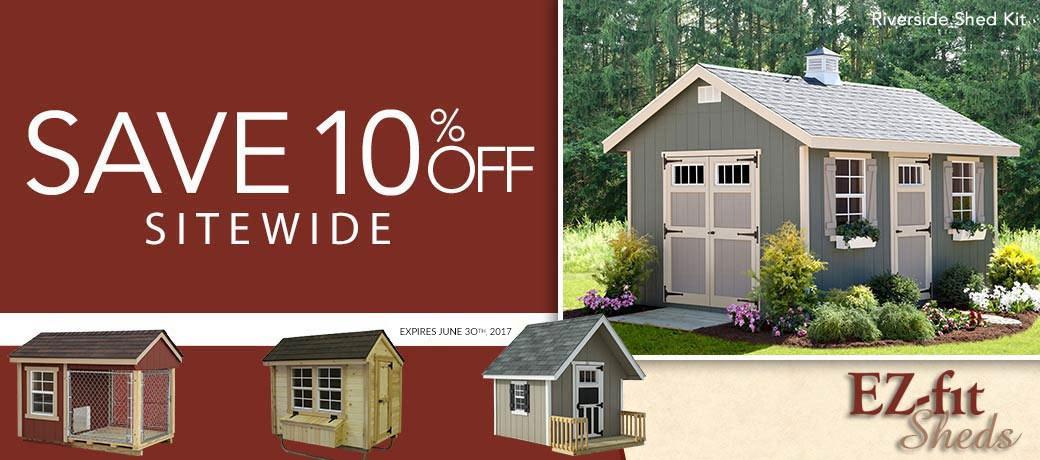 10% sitewide savings