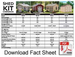 Download EZ Fit Shed Kit Fact Sheet