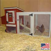 EZ Fit Mini Chicken Coop Height