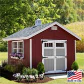 EZ Fit Homestead Shed Height