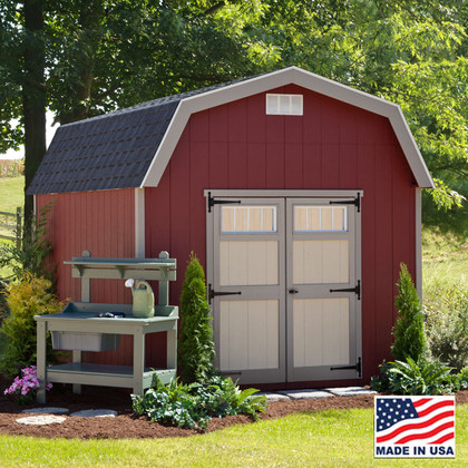Cornerstone Shed Kit | EZ Fit Shed In Amish Country, Winesburg, Ohio