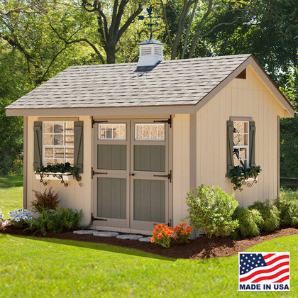 Heritage Shed Kit 10 x 12   EZ Fit Sheds Amish Country, Ohio